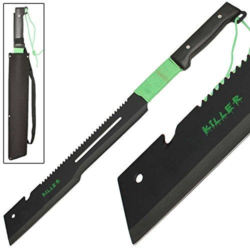 Full Tang Offset Edge Tactical OUtdoor Brush Killer Machete - Edge Machete