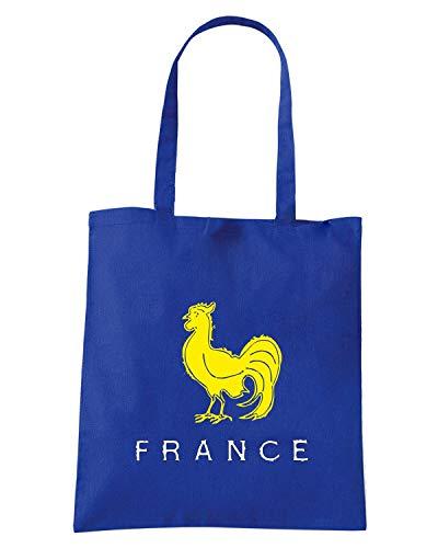 Borsa Shopper Royal Blu TRUG0171 RUGGERSHIRTS FRANCE RUGBY