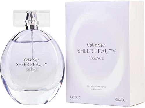 ĆK Sheer Beauty Essence women Eau De Toilette Spray 3.4 OZ. Oz/ 100 ml