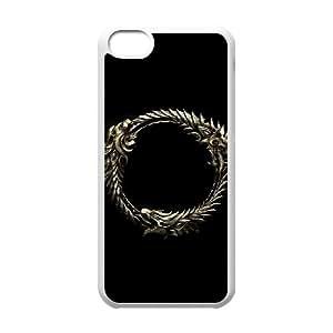 games The Elder Scrolls Online Logo iPhone 5c Cell Phone Case White Present pp001-9527556