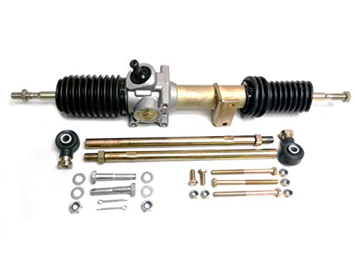 (ATV Parts Connection | Steering Gear Box Rack & Pinion with Tie Rods for Polaris Ranger UTV | Replacement to OE # 1823795 )