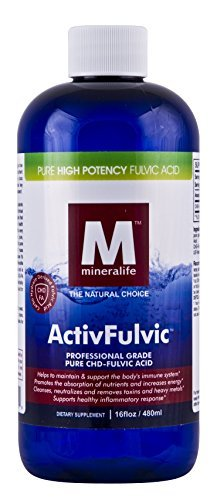 Mineralife Liquid Ionic ActivFulvic 16 oz – 32 Servings