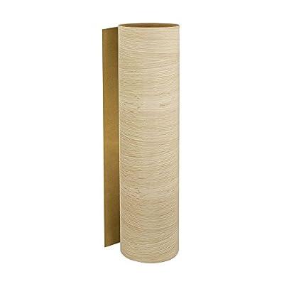 24.75 in. x 48 in. Natural Red Oak Pre-Glued Veneer Sheet