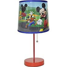 Disney Mickey Mouse Table Lamp Red