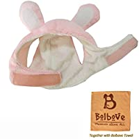 Bro'Bear Bunny Rabbit Hat with Ears for Cats & Small Dogs Party Costume Accessory Headwear