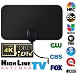 [Newest 2019] Amplified HD Digital TV Antenna Long 50+ Miles Range – Support