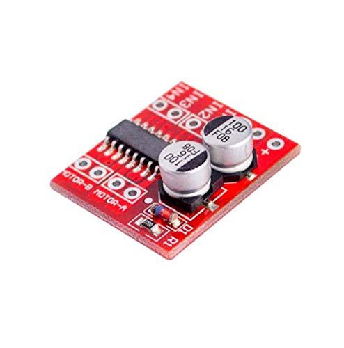 2 m/ódulos de controlador de motor DC PWM umkehrende velocidad dual H motor de paso de puente Mini Victory L298N