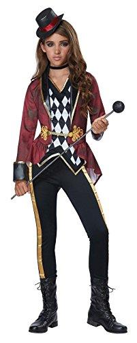 Girls Ringmaster Circus Costume size Small (Circus Ringmaster Costume Kids)