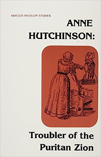 Anne hutchinson essay