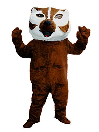 cjs huggables Mascots USA Custom Professional Low Cost Badger Mascot Costume]()