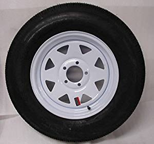 Amazon Com Two Trailer Tires Rims St205 75d14 2057514 F78 14 14