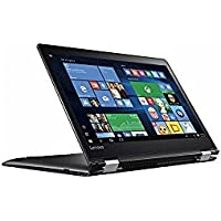 Lenovo 2-in-1 Flex 4 Flagship High Performance 14 HD Touchscreen Laptop PC, Intel Pentium 4405U Dual-Core, 4GB DDR4, 500GB HDD, Bluetooth, WIFI, Windows 10, Black