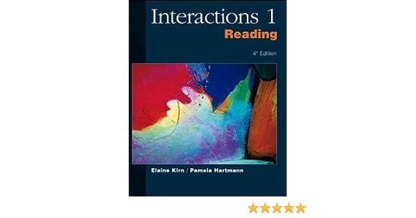 حل تمارين كتاب interactions 2 writing