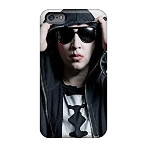 Iphone 6plus Pao1771wPeY Support Personal Customs HD Marilyn Manson Band Image High Quality Hard Phone Cover -AlainTanielian