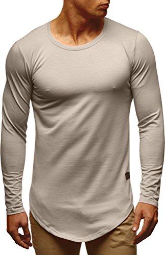 Hoodie Shirt Ln6367 Pullover Sweater Des Basic Pour Leif Hoody Col Longue Signalgrau Longsleeve Hommes Sweatshirt Nelson Rond Manche nx6YqaCR