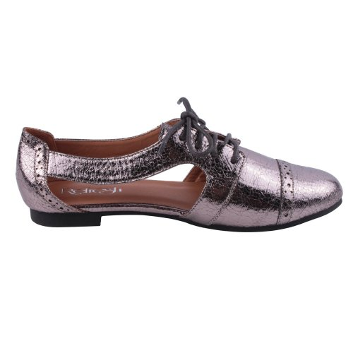 Womens Comfort Size REFRESH 6 PEWTER casual Color MARTY Oxfords 01 q68wOtPSwE