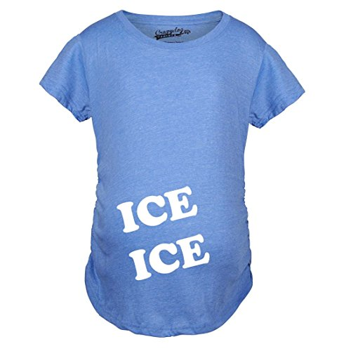 8bbdccb06 Crazy Dog T-Shirts Maternity Ice Ice Pregnant Tee