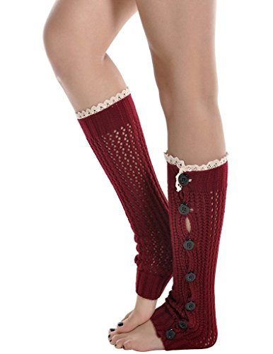 Kathlena USA Button Crochet Warmers