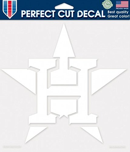 WinCraft MLB Houston Astros Die-Cut Decal, 8
