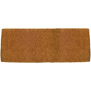 Entryways Blank Extra Thick Handmade, Hand-Stenciled, All-Natural Coconut  Fiber Coir Doormat 36