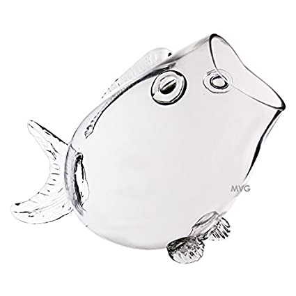 Pleasing Buy Cys Large Clear Thick Glass Fish Shaped Bowl 11 Interior Design Ideas Philsoteloinfo