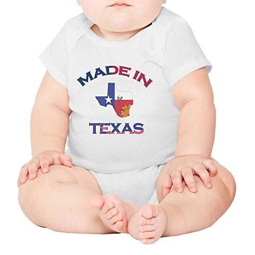 Toda Mafalda Texas Baby Girl Boy Clothes Texan Pride Onesies Newborn Bodysuit White (Made Onesie Texas In Baby)