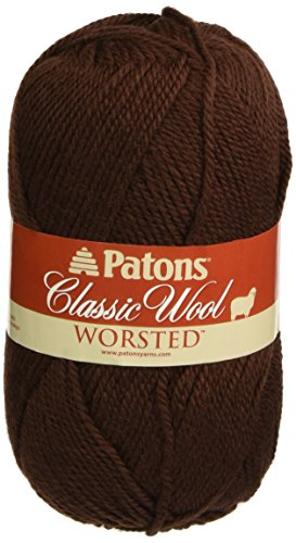 Patons Classic Wool Yarn, Chestnut Brown