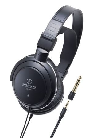 Audio-Technica ATH-T200 Closed-Back Dynamic Monitor Headphones with 40mm Driver - Black by Audio-Technica