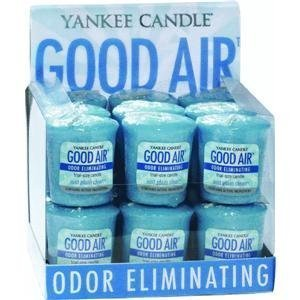 Yankee Candle Co 1159281 Good Air Votive Air Freshener Candle (Pack of 18) by Yankee Candle