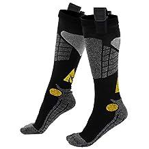 Alphaheat Rechargeable Battery Heated Socks Black Small / Medium by AlphaHeat