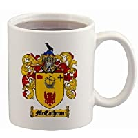 Mceathron Coat of Arms Mug / Family Crest 11 ounce cup