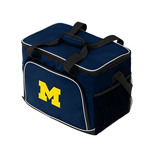 NCAA Michigan Wolverines Iceberg Cooler, Adult, Blue by Logo Brands