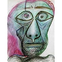 16X20 inch Picasso Oablo Self Portrait 1972 Canvas Print RePro