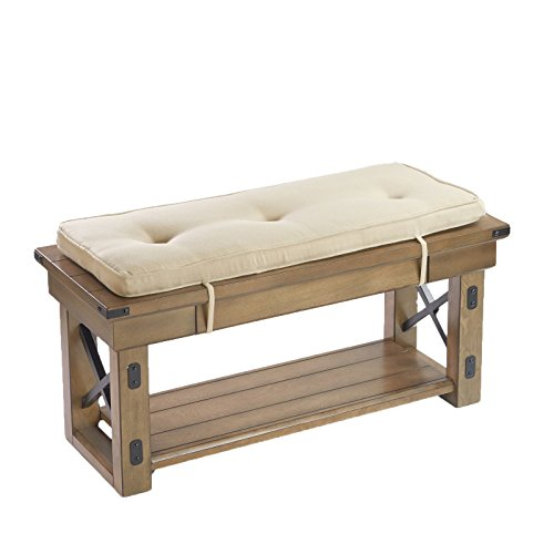 scarlett-36-beige-tufted-bench-pad-with-ties