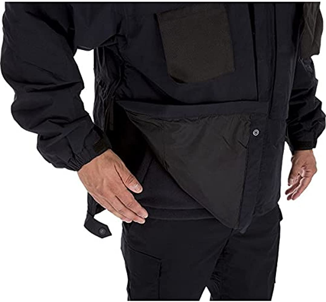 TacTec System Compatible Style 48001 5.11 Tactical Mens 3-in-1 Waterproof Work Parka Insulated