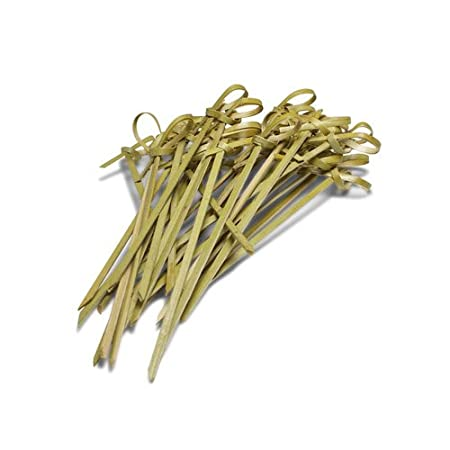 Ezee Bamboo Knot Skewers - 5 Inches (500 Pieces)