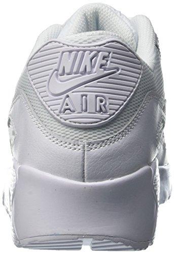 Nike Scarpe Mesh gs 90 Bianco white Bambino Da Air Ginnastica Max rwxqpZraR