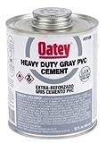 Oatey 31118 PVC Heavy Duty Cement, Gray, Gallon