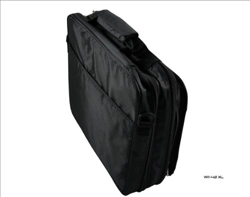 New Playbook Tablet Case Bag Carry compartment for Deluxe BlackBerry Twin Black rq1gwRr