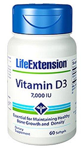 UPC 737870141860, Life Extension Vitamin D3 7000 IU, 60 capsules
