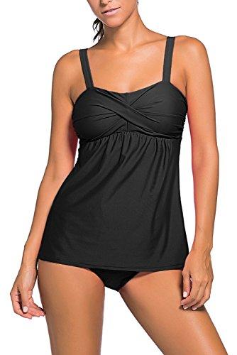 HOTAPEI Summer Swimwear Tankini Bottoms