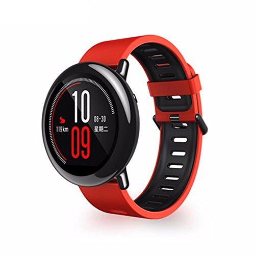 Original Xiaomi Huami AMAZFIT Deportes Smartwatch Monitor de Frecuencia Cardíaca GPS En Tiempo Real Registro De