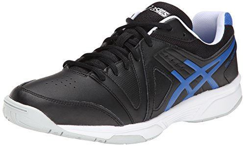 ASICS Men's Gel-Gamepoint Tennis Shoe,Black/Jet Blue,10.5 M US (Happy Feet Jets compare prices)