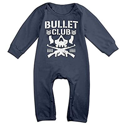 Bullet Club Bone Soldier Baby Onesie Bodysuit Toddler Clothes Jumpsuits Longsleeve