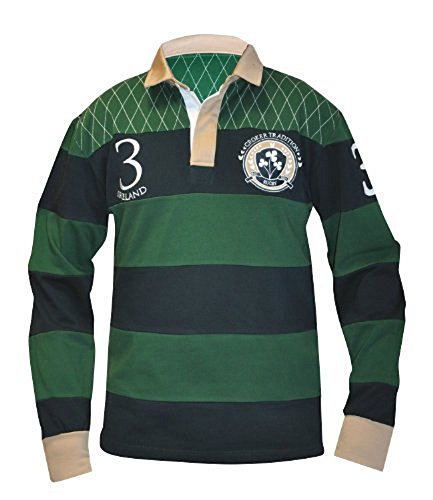 (Croker Traditional Rugby Jersey, Medium)