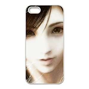 iPhone 5 5s Cell Phone Case White Tifa.Lockhart Final Fantasy 07 Umlzk