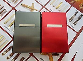 nalmatoionme Creative Metal funda para cigarrillos cigarros de ...