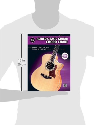 Alfred\'s Basic Guitar Chord Chart: A Chart of All the Basic Chords ...
