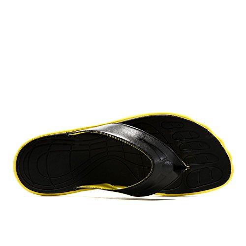 de zapatillas inferior hombres zapatos zapatillas gules antideslizante grueso Chanclas de playa Cwq0xtC4f