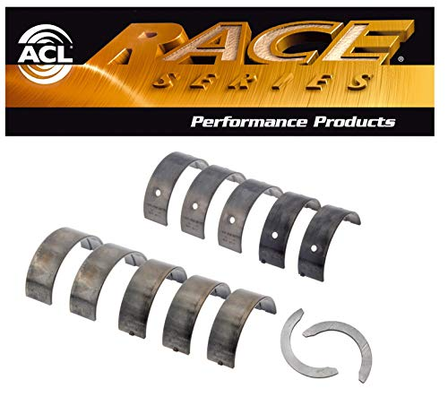 ACL Race Main Bearings & Thrust Washer compatible with Mitsubishi 1.6L 1.8L 2.0L 4G91 4G92 4G93 T 4G94 STD